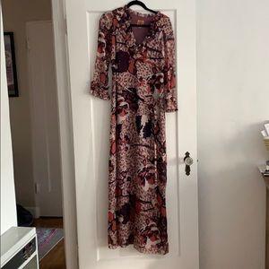 Tory Burch Silk Maxi Dress, 4